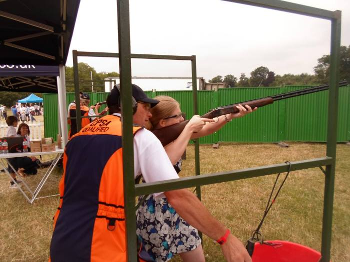 1. First ever attempt at Clay Shooting July 2013