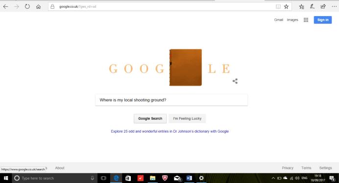 Where is my local ground google