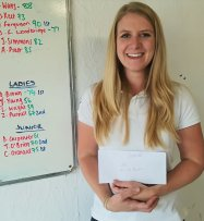 2nd in Ladies Class, Gunsite Aug 17